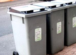 entrees et sorties de poubelles