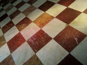 Protection des sols en marbre